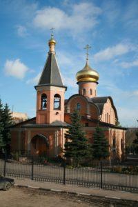 церковь, храм, андрея первозванного, в деревне федюково